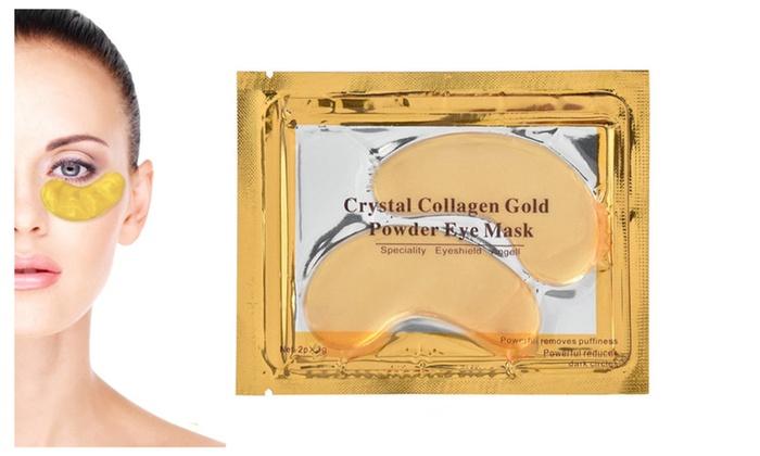 Perfect 1 Pair Crystal Collagen 24k Gold Under Eye Gel Mask