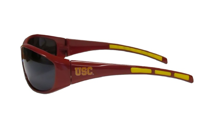 NCAA Sports Fan Shop Wrap 3 Dot Sunglasses
