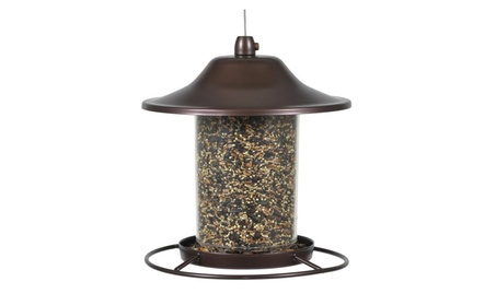 Perky-Pet 312 Panorama Bird Feeder, Capacity up to 2 lbs (Goods Pet Supplies Bird Supplies) photo