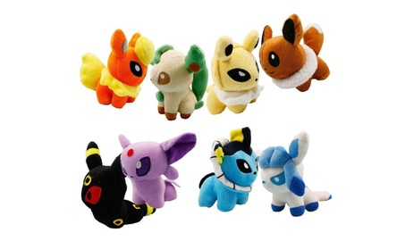 Cute and Collectible Pokemon 5 inch Stuffed Animal Toys 6997e6dd-984c-4535-a004-9dfb462f545f
