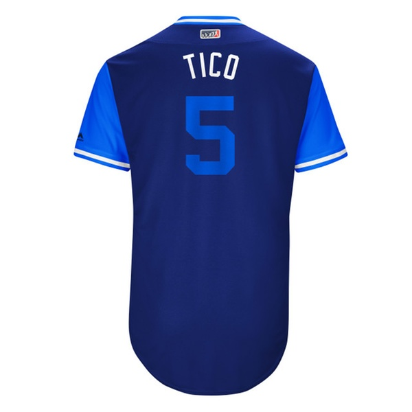 886c65f6e Mens Chicago Cubs Albert Almora Tico Royal 2017 Player Weekend Jersey |  Groupon