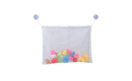 (2 packs) Bath Toy Organizer with 2 Suction Cups 325a6d5c-61dc-48f0-bb7f-b379274cdf11