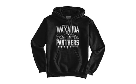 Wakanda Black Panther Marvel Hero Cool Funny Thor Avenger Gym Hoodie 183ee8be-eee5-4921-8004-f833a7c721e7