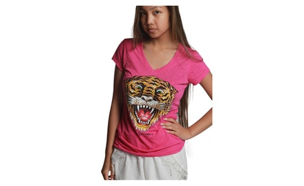 Ed Hardy Tiger Pink Girls