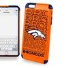 Denver Broncos Dual Hybrid Iphone 6/6S PLUS 2-Piece Cover - TPU