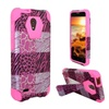 Insten Hard Hybrid Case For Alcatel One Touch Conquest Hot Pink/white
