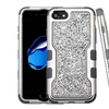Insten Mini Crystals Back Vivid  Hybrid Case For iPhone 7/8