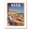 'Nice' Canvas Rolled Art