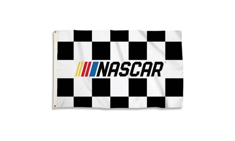 Nascar and Chevy 3 Ft. X 5 Ft. Flag W/Grommets
