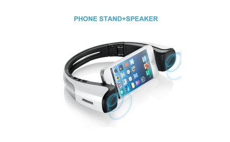Portable Bluetooth Speakers Wireless Speaker with Cellphone Stand 5c9c7320-0eb4-4623-895b-81d944389b9f