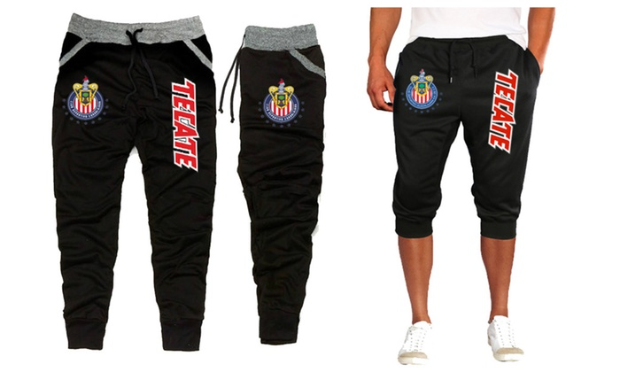 Chivas campeón Liga MX 2017 joggers & Capri 3/4 sweat pants sudadera