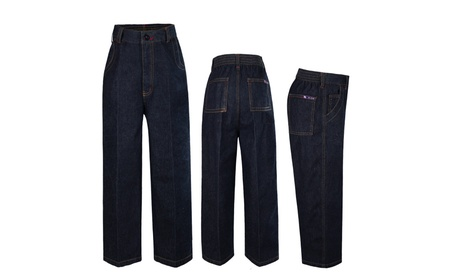 Infant Toddler Baby Boys Cotton Jeans with Pockets All Sizes Sm-14