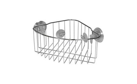 Interdesign 41820 Power Lock Suction Corner Basket - Stainless Steel 33689f84-ab8f-43bf-921d-c246df051af6