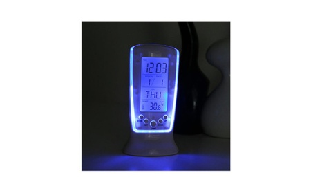 Super Backlight Electronic Thermometer Clock LED Digital with Blue dee6741d-8f50-45b9-af8a-27863204ab2b