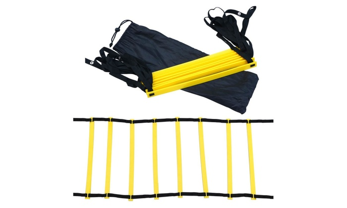 47% off Topeakmart 8 Rung Agility Ladder Speed Football Soccer Fitness Work