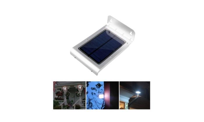 New 24 Solar Power Motion Sensor Garden Security Lamp Waterproof Light