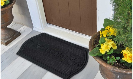 """Welcome"" Outdoor Doormat 18"" x 30"""