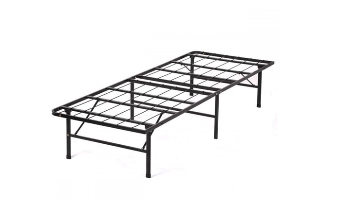 Modern bi fold folding platform metal bed frame mattress for Bed frame deals