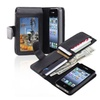 Insten Leather Case With Wallet For Apple Iphone 4 / 4s, Black