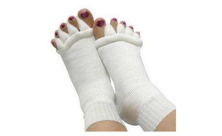 Ultra Soft Massage Toe Socks For Bunion Care Sensative Toes Diabetic