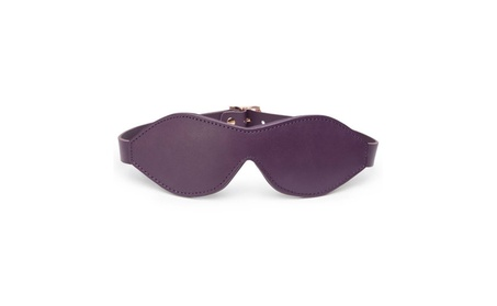 Fifty Shades Freed Cherished Collection Leather Blindfold Purple 824bdd58-644e-4b88-9528-eb6a62acb121