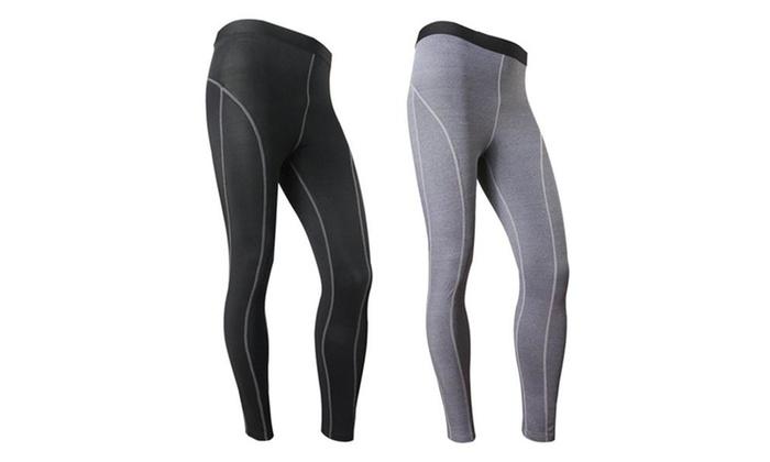 Men's Compression Tight Pants ...