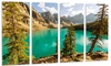 Groupon Goods: Moraine Lake in Banff National Park - Landscape Metal Wall Art