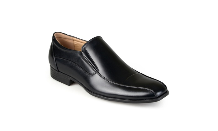 Vance Co. Mens Faux Leather Slip-on Dress Loafers