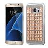 Insten Hard Diamond Cover Case For Samsung Galaxy S7 Edge Rose Gold