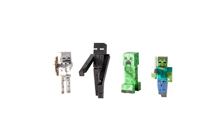 Minecraft Overworld Hostile Mobs Exclusive Action Figure 4-Pack 041b83d6-437d-45be-b631-5e236c560c42
