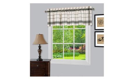 Bainbridge Window Curtain Valance - 58 x 14 34630c50-3a7a-4040-a5fb-23d393163fb9