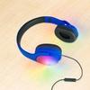Vivitar VHP20155 LED Light Up Stereo Bluetooth Over the Ear Cushioned Headphones