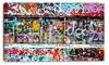 Colorful Graffiti Wall - Street Art Canvas Art Print