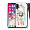 Insten Fusion Feathers Tempered Glass Hybrid TPU Case For iPhone X
