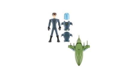 Bandai Cartoon Network Ben 10 figure and Rustbucket III. bff65fb6-d944-42a8-9764-7f4a62d76e08