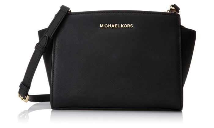 MICHAEL Michael Kors Women's Selma Medium Messenger Bag