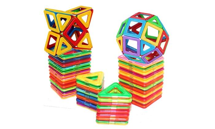 Manve Magnetic Building Tiles