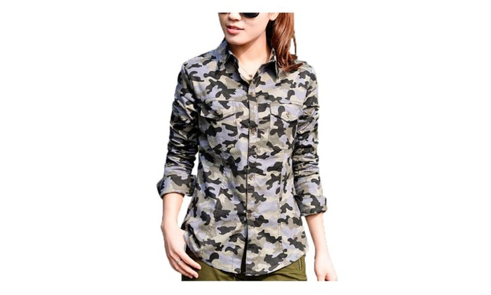 Women's Long Sleeve Camping & Hiking Slim Fit Shirts