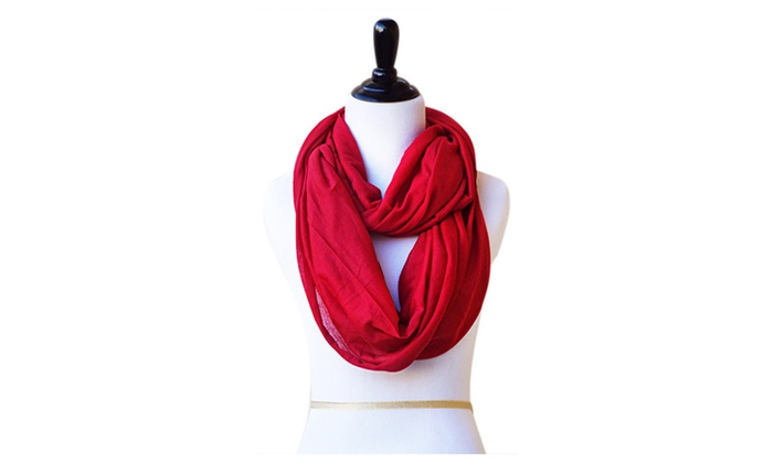 The Charity Wrap Solid Jersey Infinity Scarf