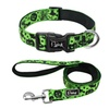 Durable Adjustable Halloween Night Dog Collar with Leash