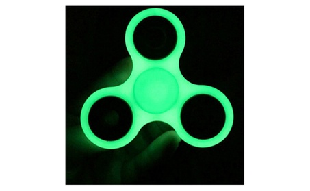 Glow In The Dark Fidget Hand Spinner ADHD Anxiety Stress Relief Toy 5dc4390c-ff81-4e14-8da8-4b5541e480b1