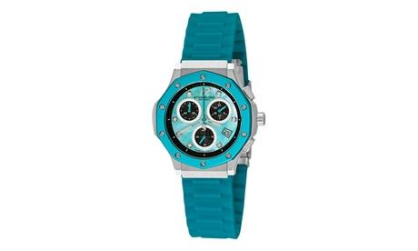 Stuhrling Original Women's Quartz Chronograph Genuine Leather Strap Watch 936079f3-af88-4339-bd6e-66387aa9ec35