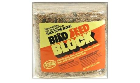 Arizonas Best AZP30018 5 lbs. Wild Bird Seed Block (Goods Pet Supplies Bird Supplies) photo