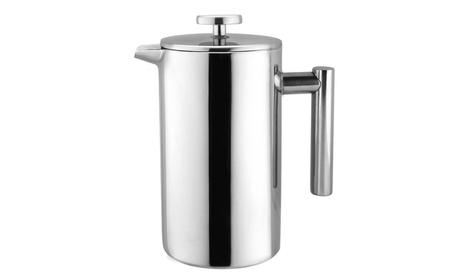 Double Wall Stainless Steel 34 OZ French Press Coffee Maker a41cd98d-1244-412f-8129-e919e3402ab9
