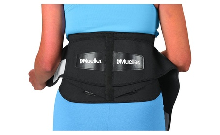 Mueller 255 Lumbar Support Back Brace with Removable Pad, Black 61f9e318-e6dc-471d-b4c7-e26d6fd98294