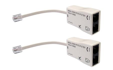 4 U-Verse Line Noise Eliminator filter kit. Pack Set Filters DSL