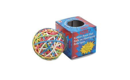 ACCO Rubber Band Ball, Approximately 250 Rubber Bands, Assorted 68216857-6f94-445e-bba0-9f2daa2808bf