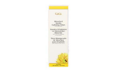 Gigi wax 0640 bleached strips large 100-CT a3c12f0d-ee89-427a-932b-0eadc435e045
