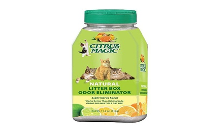 Citrus Magic Litter Box Odor Eliminator - 11.2 Ounce 96e26278-f295-40b4-9c14-2076f6b8f9f5