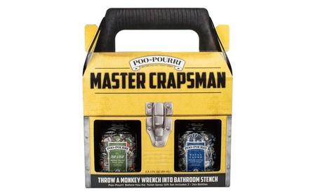 Poo-Pourri Master Crapsman Gift Set 5aa8f0d1-9a5d-4ea6-bd2f-d534a066c709